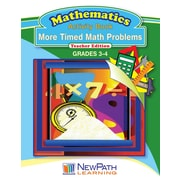 More Timed Math Problems Reproducible Workbook