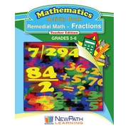 Remedial Math Series Fractions Workbook