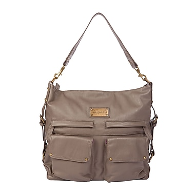 Kelly Moore 2 Sues Shoulder Bag with Removable Basket, Grey