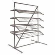 Econoco 8 Shelves T Style Adjustable Shoe Rack