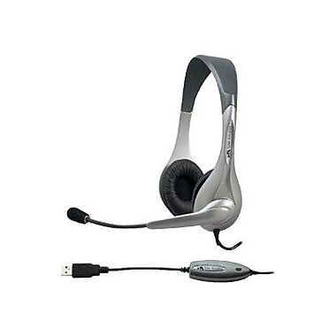Cyber Acoustics USB Stereo Over-the-Head Headset With Microphone