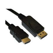 4XEM™ 6' DisplayPort To HDMI Male/Male Audio/Video Cable