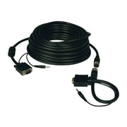 Tripp Lite 50' Coax VGA Male/Male Monitor Cable With Coax Audio Connectors