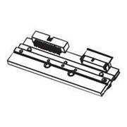 Zebra Thermal Transfer Printhead for 105SLPlus Printer, Black (P1053360-018)