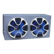 Pyle® PLBS122 1000 W Dual Bass Box Speaker System, Blue/Black