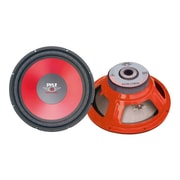"Pyle® PLW15RD 15"" 1000 W High Performance Woofer, Red"