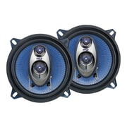 Pyle® PL53BL 200 W Pair Of Three-Way Speakers, Blue