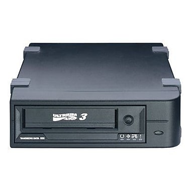 Tandberg LTO-3 HH Ultrium 400GB SCSI External Tape Drive, Black