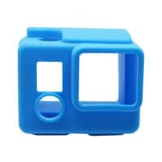 Urban Factory Silicone Mini Camera Cover For GoPro Hero3 and Hero 3+, Blue