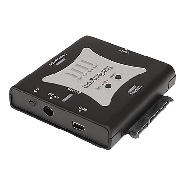 StarTech SATDUPUE Standalone Hard Drive Duplicator Dock, USB 2.0 and eSATA Interface