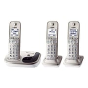 Panasonic® KX-TGD213N Single Line Digital Cordless Phone, Silver