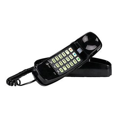AT&T Trimline 210 Single Line Corded Telephone, Black