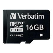 Verbatim® Premium 16GB Class 10 Memory Card