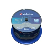 Verbatim® Blu-ray Recordable Media, 25GB, 50/Pack (43773)