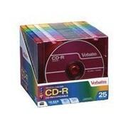 Verbatim® 700MB 52x CD Recordable Media, 25/Pack