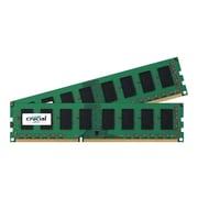 Micron® Crucial® CT2K25664BA160BA 4GB (2 x 2GB) DDR3 240-Pin SDRAM PC3-12800 UDIMM Memory Module Kit