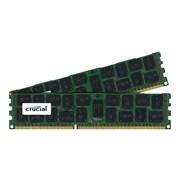 Micron® CT2K8G3ERSLD8160B 16GB(2 x 8GB) DDR3 240Pin PC3-12800 DIMM X4 Chip Memory Module Kit