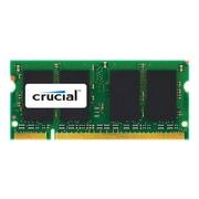 Micron® Crucial® CT2G2S800M 2GB (1 x 2GB) DDR2 200-Pin SDRAM PC2-6400 SoDIMM Memory Module Kit