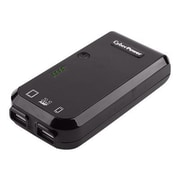 Cyberpower® 5200 mAh USB Battery Charger, Black