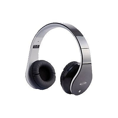 ilive bluetooth stereo headphone with microphone black staples. Black Bedroom Furniture Sets. Home Design Ideas