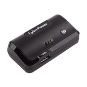 Cyberpower® 2200 mAh USB Battery Charger, Black