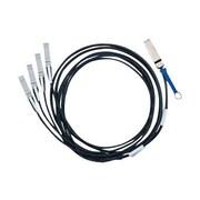 Mellanox® MC2609130-003 9.84' SFF-8436 QSFP+ To SFF-8431 SFP+ Copper Passive Cable