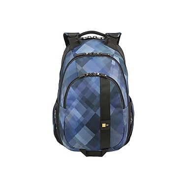 Case Logic® Berkeley Plus Blue Polyester Backpack For Up To 15.6in. Laptops