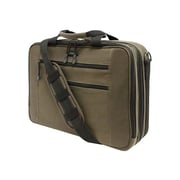 "Mobile Edge Olive Eco-Friendly Cotton Canvas 16"" Laptop Briefcase"