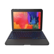 "Zagg® G41ZFK-BK0 Folio Keyboard/Cover Case For 10.1"" Samsung Galaxy Tablet 4, Black"