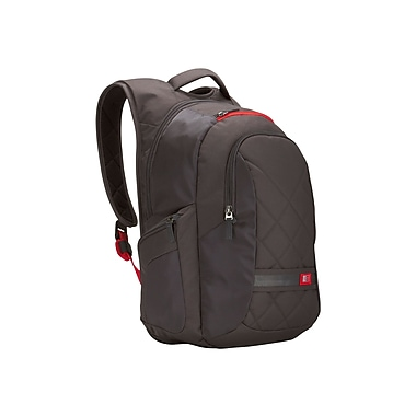 Case Logic® Gray Polyester Backpack For Up To 16