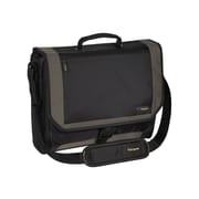 "Targus® CityGear Black/Silver Polyester Messenger Bag For 17.3"" Laptop"