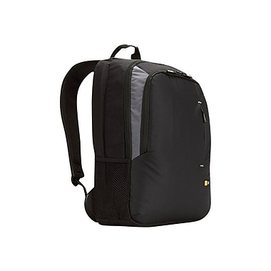 Case Logic® Black Dobby Nylon Backpack For Up To 17