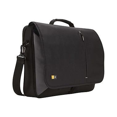 Case Logic® Black Dobby Nylon Messenger Bag For 17