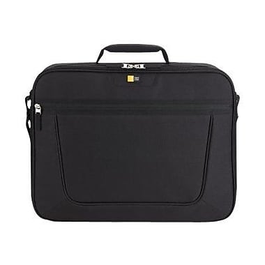 Case Logic® Clamshell Black Polyester 15.6