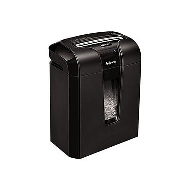 Fellowes® Powershred® 63Cb Black Cross-Cut Shredder, 17/Pass