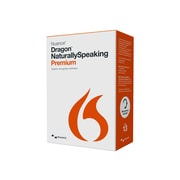 Nuance® Dragon NaturallySpeaking v.13.0 Premium Software, 1 User, Windows, DVD-ROM, Local/State GOVT