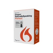 Nuance® Dragon NaturallySpeaking v.13.0 Premium Mobile Edition Software, 1 User, Windows, DVD-ROM