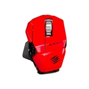 Mad Catz® Office R.A.T. M Wireless Optical Mouse, Red
