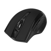 SIIG® JK-WR0A12-S1 USB Type A Wireless Ergonomic Optical Mouse, Black