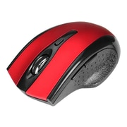 SIIG® JK-WR0912-S1 USB Type A Ergonomic Wireless Optical Mouse, Red
