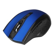 SIIG® JK-WR0B12-S1 USB Type A Ergonomic Wireless Optical Mouse, Blue