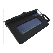 "Topaz® SigLite® 1X5 Virtual Serial via USB Signature Pad With Stylus, Black, 4.3"" x 1.4"""