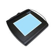 Topaz® SignatureGem® LCD 4x5 T-LBK766SE-BHSB-R Dual Serial/USB Backlit Higher Speed Edition (SE) Electronic Signature Pad
