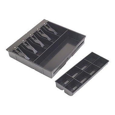 MMF™ VAL-u Line® 5-Bill Cash Drawer Tray, Black