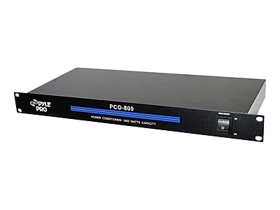 """""PYLE - PRO SOUND PCO800 19"""""""" Rack Mount 1800 W Power Conditioner With 8 Outlets"""""" IM1DE6708"