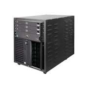 Innovation® RACK-117-12U Portable Server Rack, Black