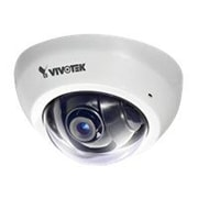 VIVOTEK FD8166-F6 Wired Indoor Ultra Mini Fixed Dome Network Camera, White