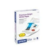 "Epson® Premium Photo Paper, 8 1/2"" x 11"", Bright White/Ultra Smooth, 500 Sheets"