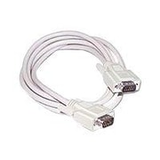 C2G® 10' Economy HD15 SVGA Male/Male Monitor Cable, Beige