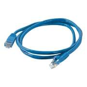 C2G® 25' CAT5E Snagless Unshielded Network Patch Cable, Blue